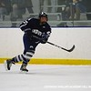 Gallagher '20 gets the puck to the net.
