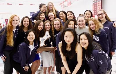 GV Swimming at New England Championships