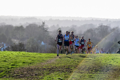 Men's Division 1 Surrey Cross Country League Race 4