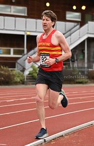 Belgrave Harriers Comeback 5000 metres, Battersea, England
