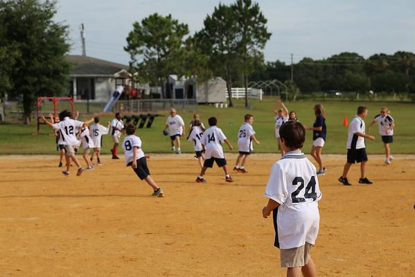 4th Grade Vs. Faculty Kickball 2015