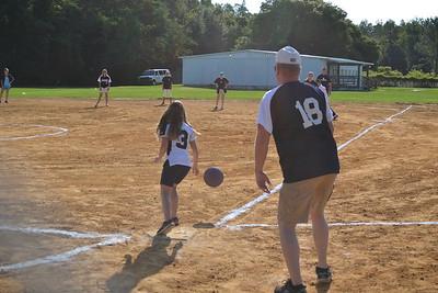 4th Grade vs. Faculty Kickball Game 2016