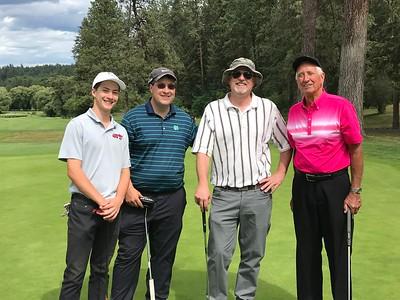 Alumni Golf Tournament 6-29-18
