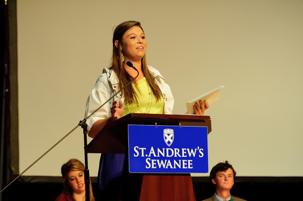 Fall Athletic Awards 2012
