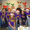 """Fontbonne University softball players volunteering at the Community Action Agency of St. Louis County's """"Winter Wonderland"""" event."""