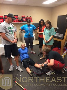 2015-08-05 ATC Student Trainers Learning Techniques - MA