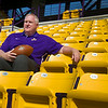 University at Albany Head Football Coach Greg Gattuso