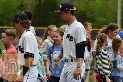 2018-04-18 BB Booneville Middle School Day at Baseball
