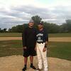 Manny with Cruz Santana