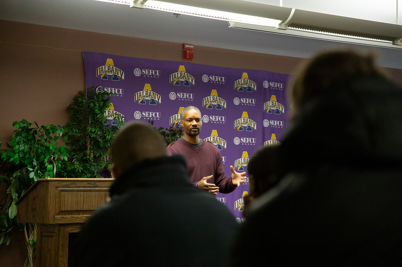 Jan. 9, 2019 - Basketball Speaker Series