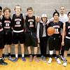 2016 Boys' MS Grey Basketball  - Official Team Photo
