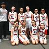 2016 Girls' MS Black Basketball  - Official Team Photo