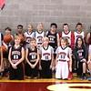2016 Boys' MS White Basketball  - Official Team Photo