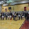2017 Boys' Basketball Senior Night