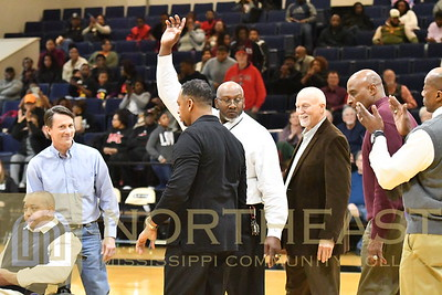 2018-02-08 BskB 1981-82 State Championship Reunion on Court Recognition