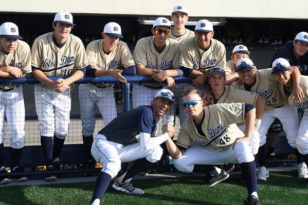 Notre Dame Baseball 2014