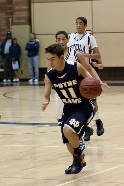 Junior Varsity Basketball vs Loyola
