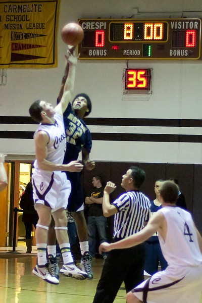 Varsity Basketball vs Crespi