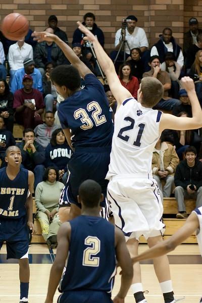 Varsity Basketball vs Loyola