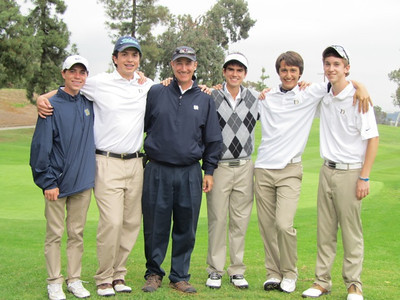 Boys Golf 2012