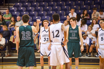 Boys JV Basketball vs. Christ School