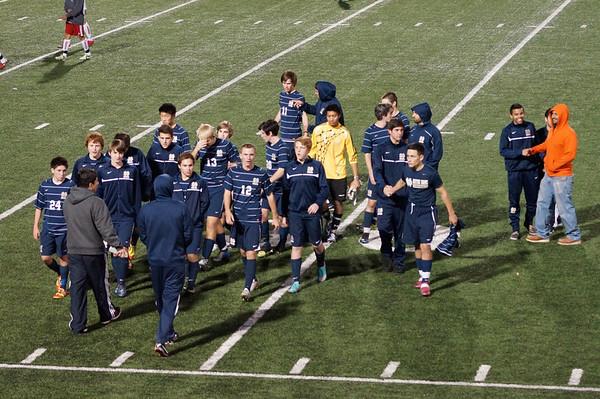 Boys Soccer v Burroughs 12-20-12