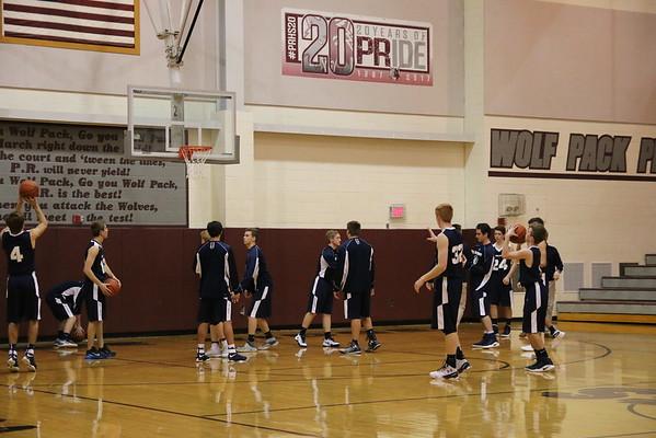 CG vs. PR Boys Varsity Basketball