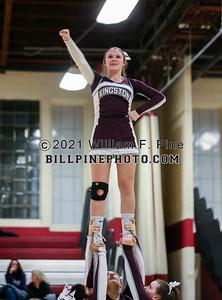 Cheerleading at Basketball 01-17-20