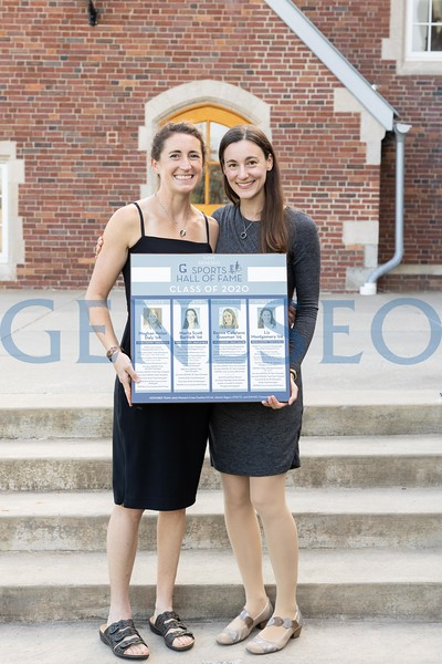 Left to right: Liz Montgomery '09 and Marta Scott Bartlett '06. Not pictured: Meghan Nolan Daly '08 and Renee Catalano Gussman '05