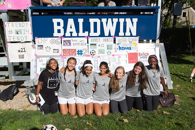 OCTOBER 21, 2016 -- BRYN MAWR  -- The Baldwin School's Varsity Soccer team Friday, October 21, 2016.  PHOTOS ©2016 Jay Gorodetzer     Jay@JayGorodetzer.com --  www.JayGorodetzer.com