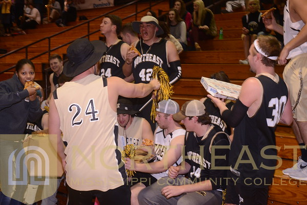 2015-02-05 FANS Basketball Student Section