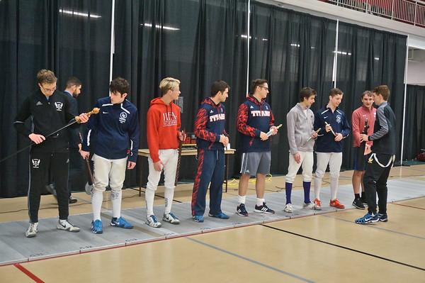 Fencing Award Ceremony