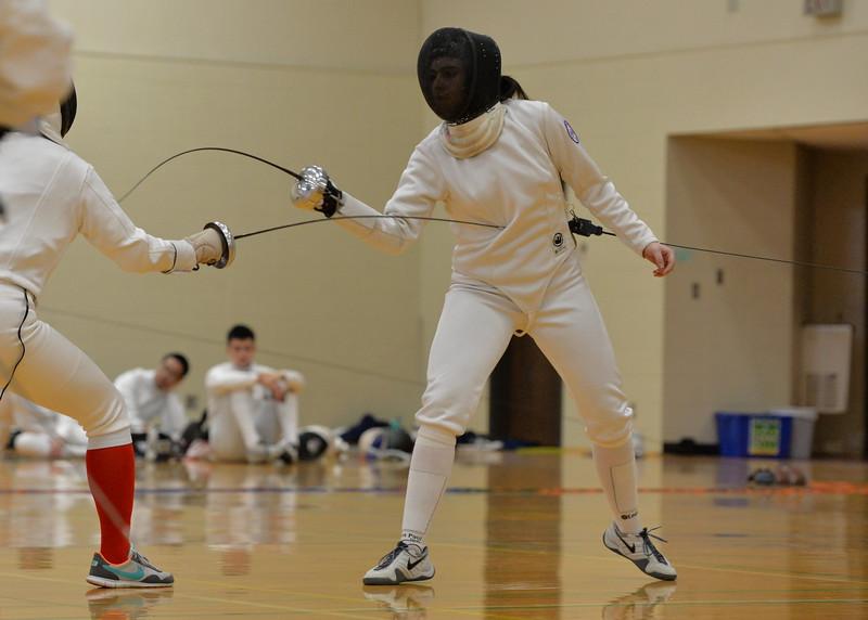 Fencing Practice 1 25 2015