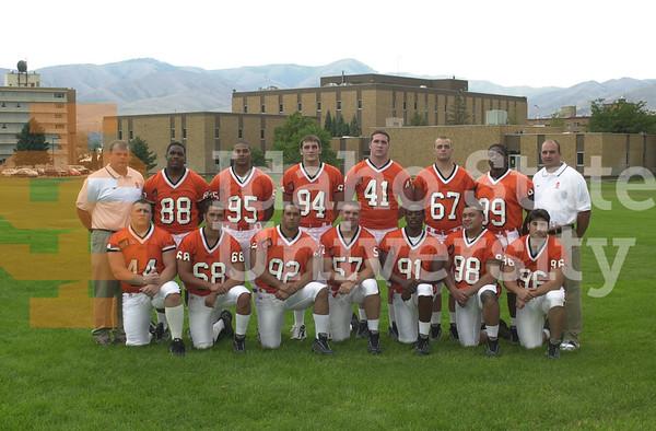 Football Team Shots 2001