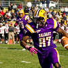 UAlbany's football team defeats St. Francis 36-13 in the 2012 homecoming game. photographer: Paul Miller
