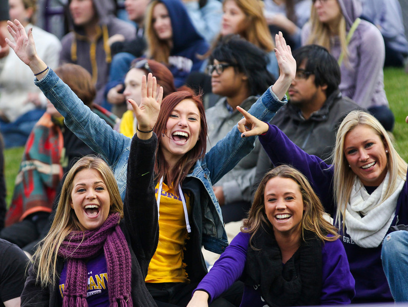 Images from UAlbany's 2013 Homecoming Game against Towson.  Photographer: Brian Busher