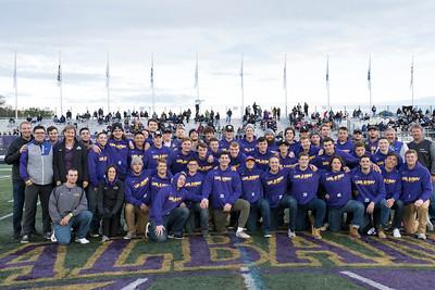 The 2018 UAlbany Homecoming football game at Bob Ford Field at the University at Albany on Saturday, October 20, 2018. (photo by Patrick Dodson)