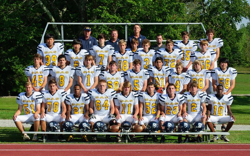 2012 SAS Mountain Lion Varsity Football Squad