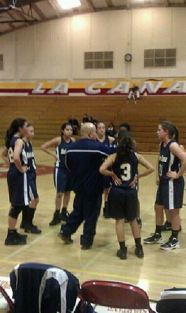 Notre Dame Girls Basketball vs. La Canada 12-6-11