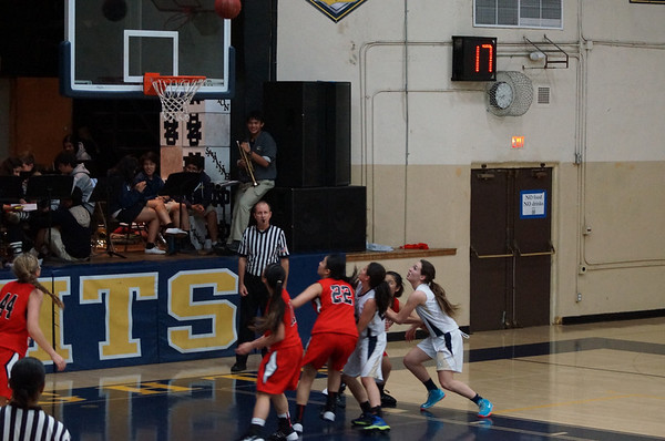 Girls Varsity Basketball v HW - January 30, 2014