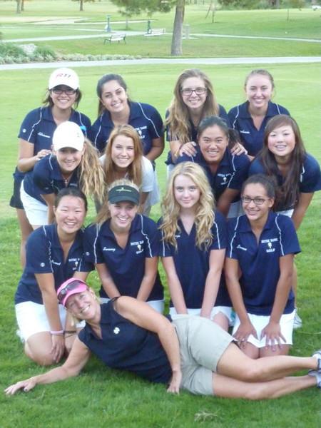 Girl's Golf 2011