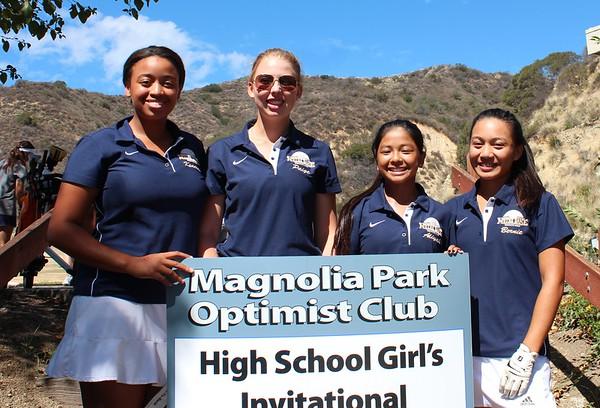 Girl's Golf 2015