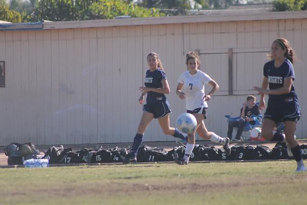 Girls Varsity Soccer Excalibur Tournament 12-27-11