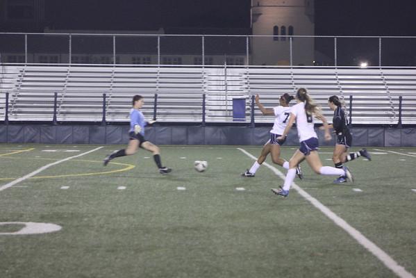 Girls Varsity Soccer. ND v Harvard Westlake 1-6-12