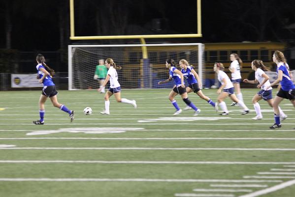 Notre Dame Girls Soccer v Alemany 1-27-12