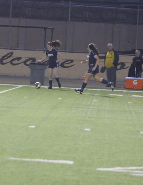 Notre Dame HS Girls Soccer v. Lousville 1-17-12