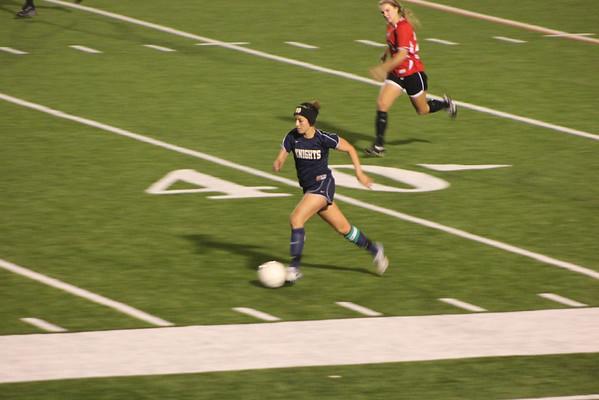 Notre Dame High School girls soccer v FSH 1-13-12