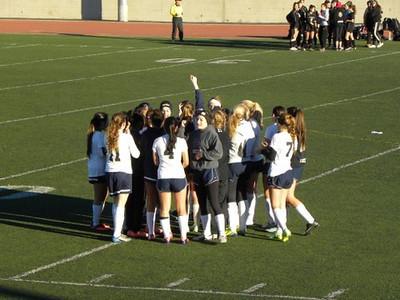 Girls Soccer JV v. Calabasas December 14,  2013