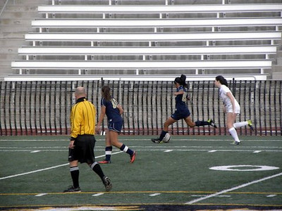 Girls Soccer JV v. HW January 10,  2014