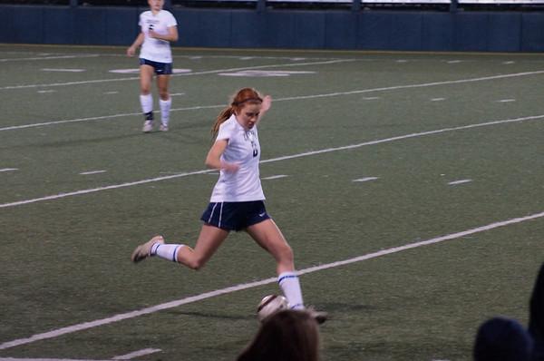 Girls Varsity Soccer v. Chaminade 1-22-14